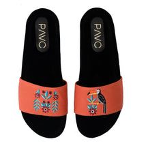 Load image into Gallery viewer, Toucan Orange Slippers -Code 5013