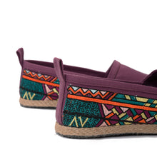 Load image into Gallery viewer, Carre violet Espadrilles-5202