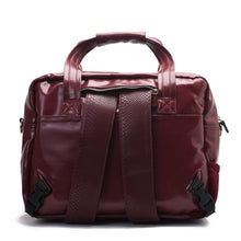 Load image into Gallery viewer, Diaper bag - Leather Burgundy-Code 203