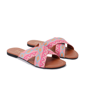 Coral cross Slippers - Code 5002