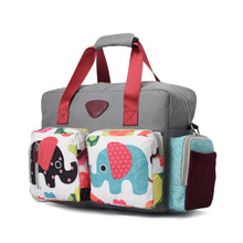 Load image into Gallery viewer, Diaper bag - grey - 200