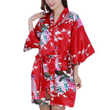 Floral Pajama Bathrobe Gown