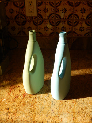 Out of the Bottle Laundry Detergent  Porcelain Vase