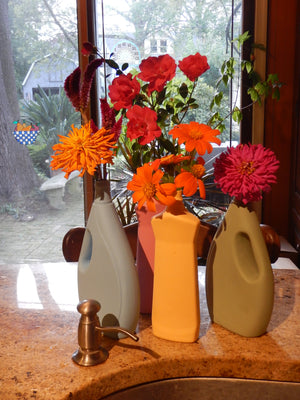 Super Chic Dish Detergent Bottle Porcelain Vase