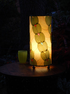 Eco-Friendly Handmade Outdoor Butterfly Series Real Leaf Lamp - available in 2 color options