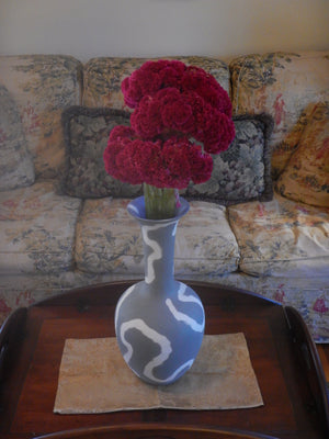 Elegant Porcelain Memphis Design Movement Vase