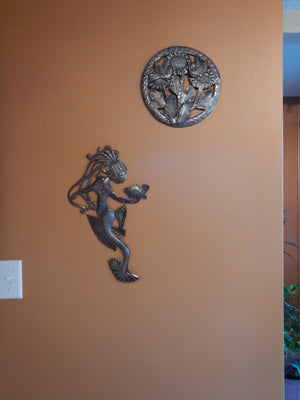 Mermaid and the Fish Wall Art