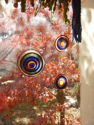Handblown Glass Suncatcher