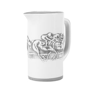 Stoneware & Co. Embossed Horse Pitcher