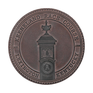 Clayton & Crume Keeneland Leather Coasters