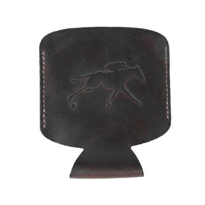Clayton & Crume Keeneland Leather Koozie