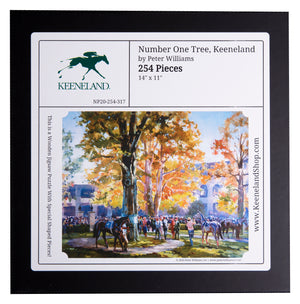 Nautilus Keeneland Number One Tree Wooden Puzzle