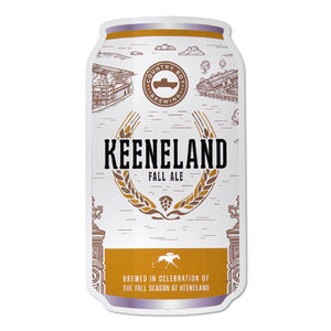 Keeneland Fall Ale Can Decal