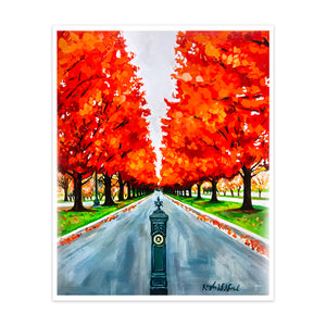 An Entrance Into Fall 16x20 Print