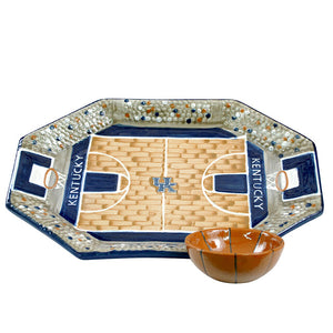 Stoneware & Co. University of Kentucky Basketball Chip & Dip Set
