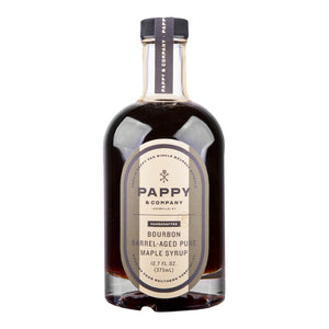 Pappy & Company Bourbon Barrel Aged Pure Maple Syrup