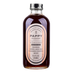 Pappy & Company Bourbon Barrel Aged Old Fashioned Mix