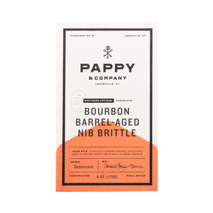 Pappy & Company Bourbon Nib Brittle