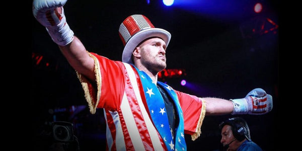 Entrée Tyson Fury Gypsy King