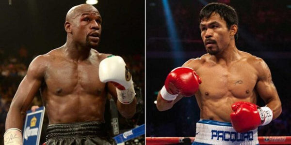 Manny Pacquiao et Floyd Mayweather
