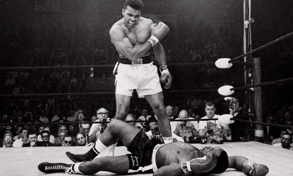 Mohamed Ali vs Sonny Liston