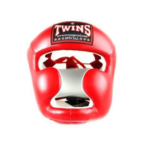 Casque de Boxe Twins HGL3 Rouge Univers Boxe