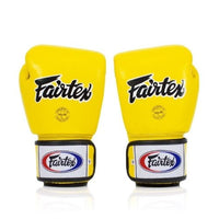 Gants de Boxe Fairtex BGV1 Breathable Jaune