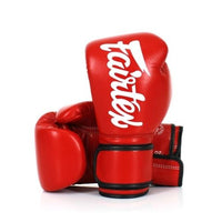 Gants de Boxe Fairtex BGV14 Rouge Univers Boxe