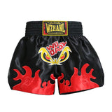 Short de Boxe Thaï Wdaol Noir Dragon 3 Style / XL
