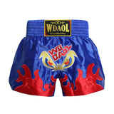 Short de Boxe Thaï Wdaol Noir Dragon 4 Style / 3XL