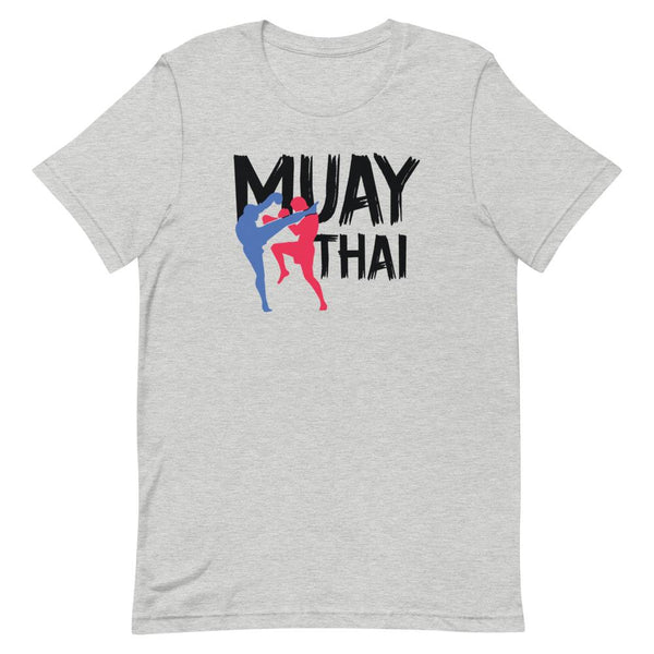 T-shirt Boxe Thaï TH-BT06 Gris Chiné / S