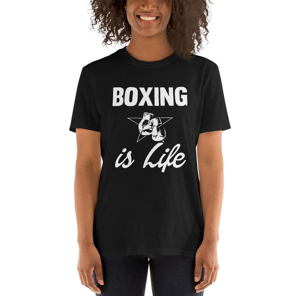 T-shirt Boxing is Life Femme - Univers Boxe