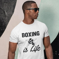 T-shirt Boxing is Life - Univers Boxe