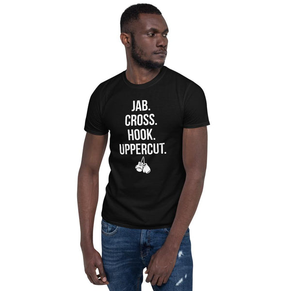 T-shirt Jab Cross Hook Uppercut - Univers Boxe: Vêtements & Accessoires de Boxe