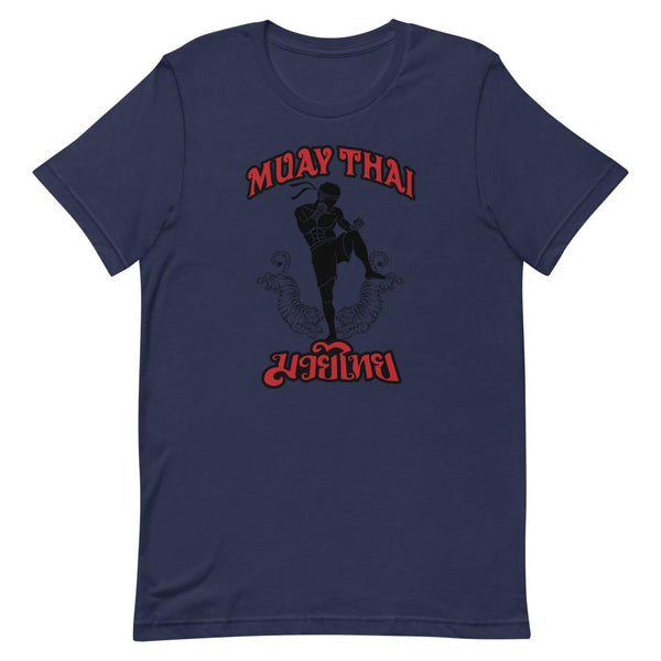 T-Shirt Muay Thaï TH-MT04 Bleu Marine / S