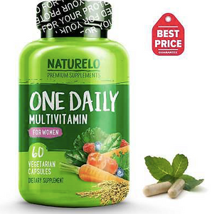 NATURELO One Daily Multivitamin for Women - 60 Capsules