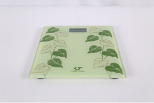 Load image into Gallery viewer, Vines LCD Digital Bathroom Body Weight Scale Tempered Glass with CR2032 Battery