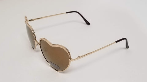 Heart Shaped Aviator Sunglasses