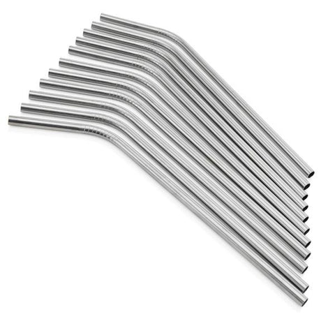 SIC Cups - Stainless Steel Straw Curved