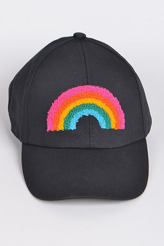 Black Rainbow Cap