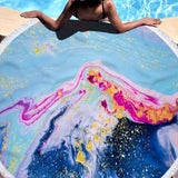 Geode Beach Towel