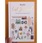 Microcosm Publishing - Breathe List Journal:101 Creative Ways to Organize Your Life