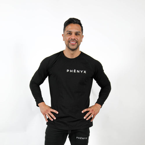 Phēnyx Performance Long Sleeve - Black