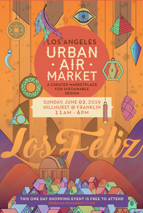 Urban Air Market in Los Feliz June 2