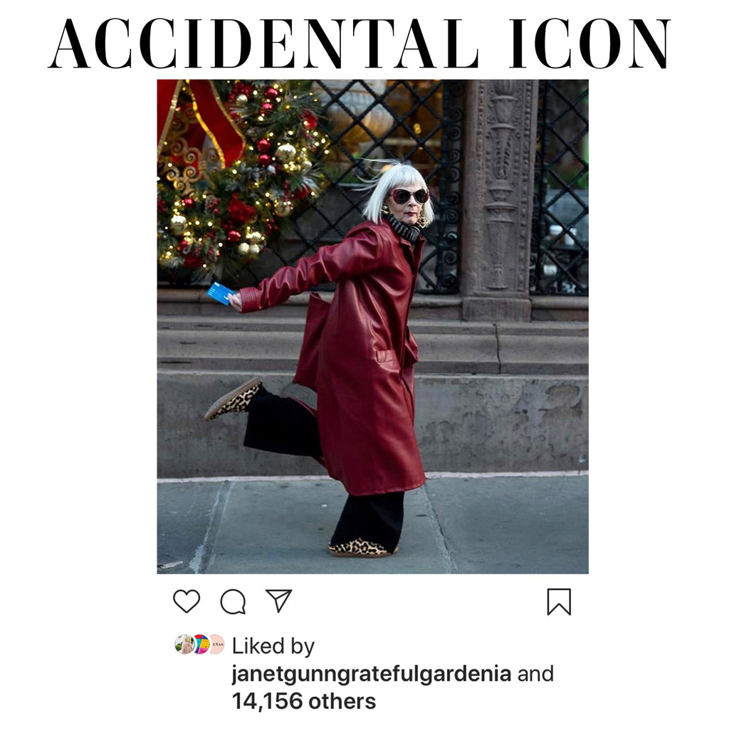 As Seen On Lyn Slater, The Accidental Icon