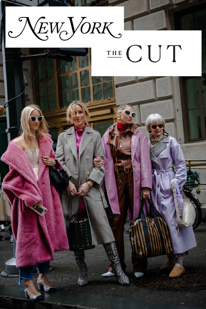 As seen in New York Magazine, The Cut, during New York Fashion Week