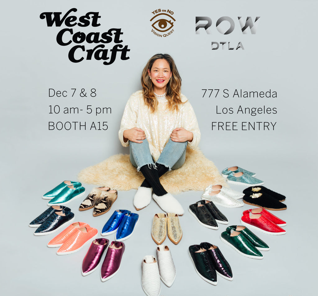 L.A. West Coast Craft Dec 7 and 8 at Row DTLA
