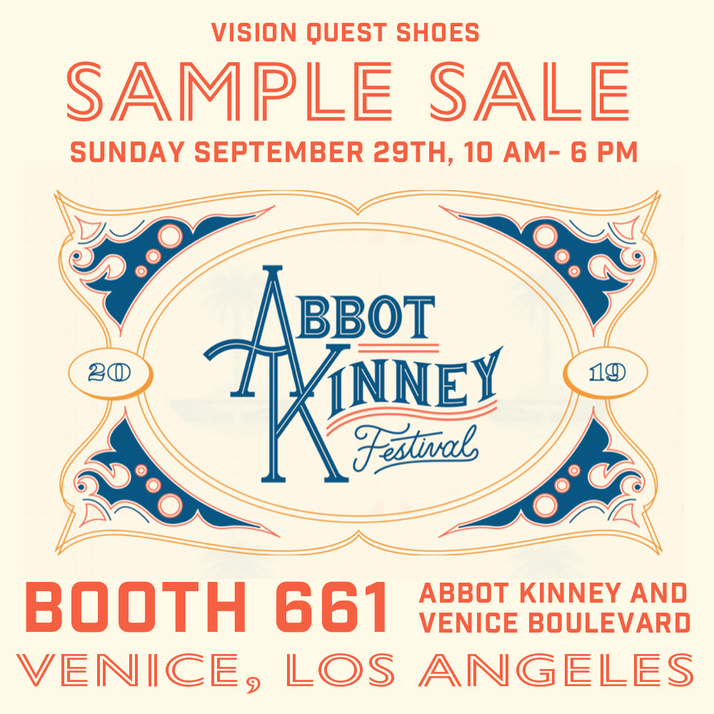 Sample Sale at The Abbot Kinney Festival Sept 29th
