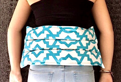 Microwave Heating Pad | flax heating pad, microwave heat pack, hot cold pack, self care gift, neck wrap, lavender or unscented