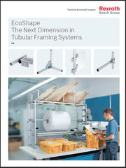 Bosch Rexroth EcoShape Aluminum Round Tube Framing System; FlexMation